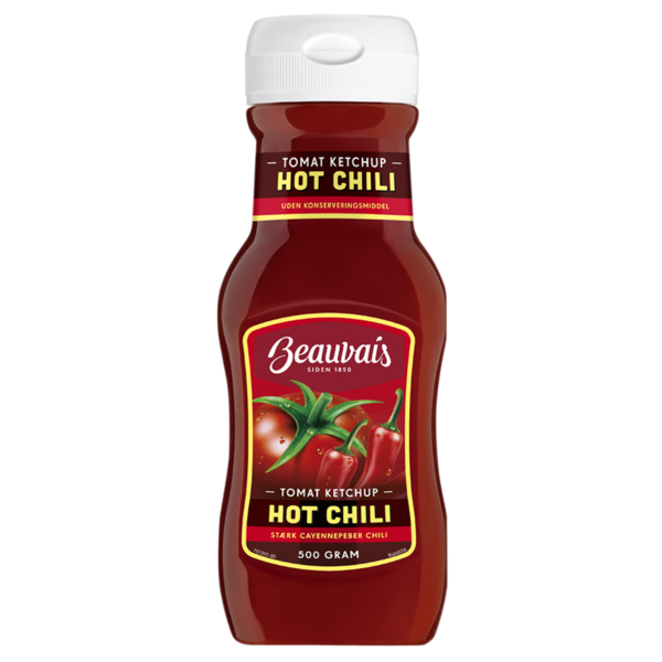 hot chili ketchup beauvais