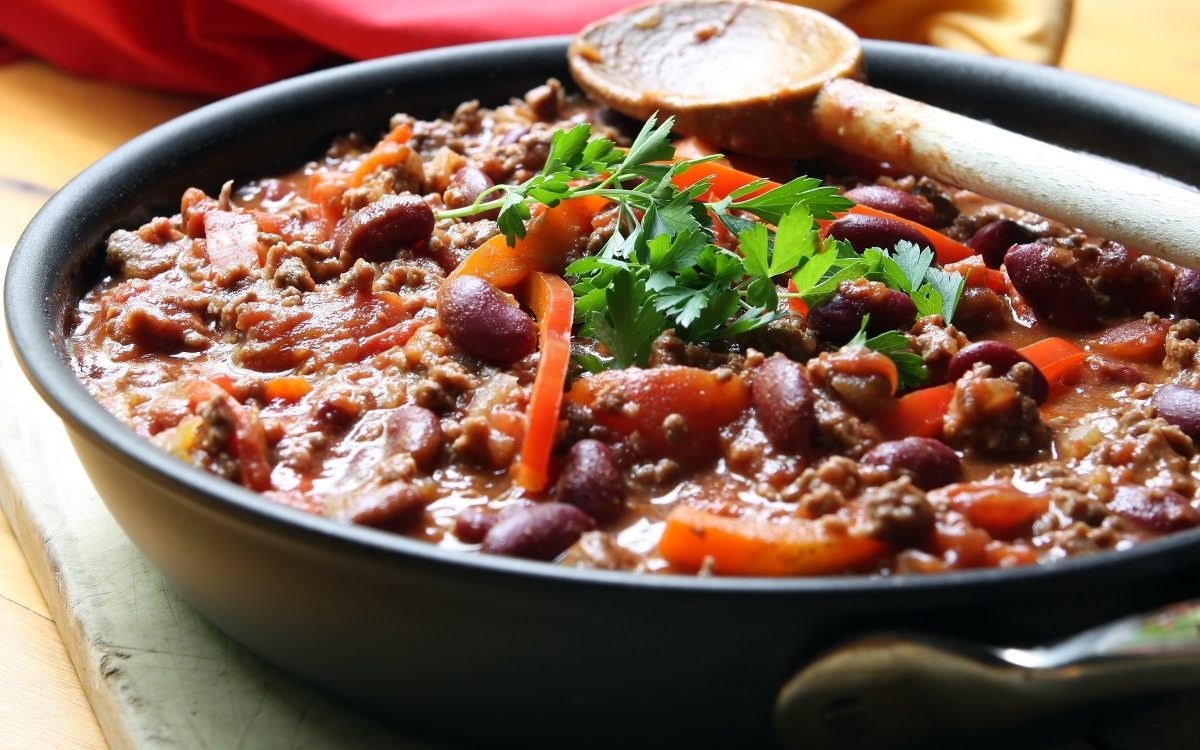 Beauvais opskrift chili con carne