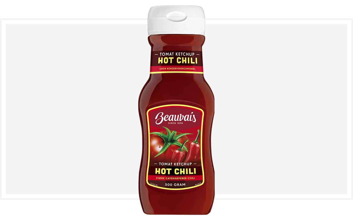 Beauvais chili ketchup
