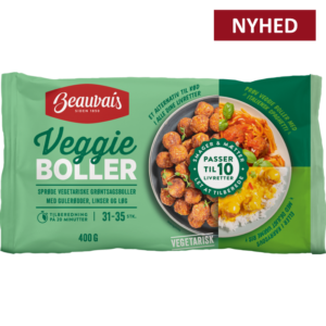 Beauvais veggie boller nyhed