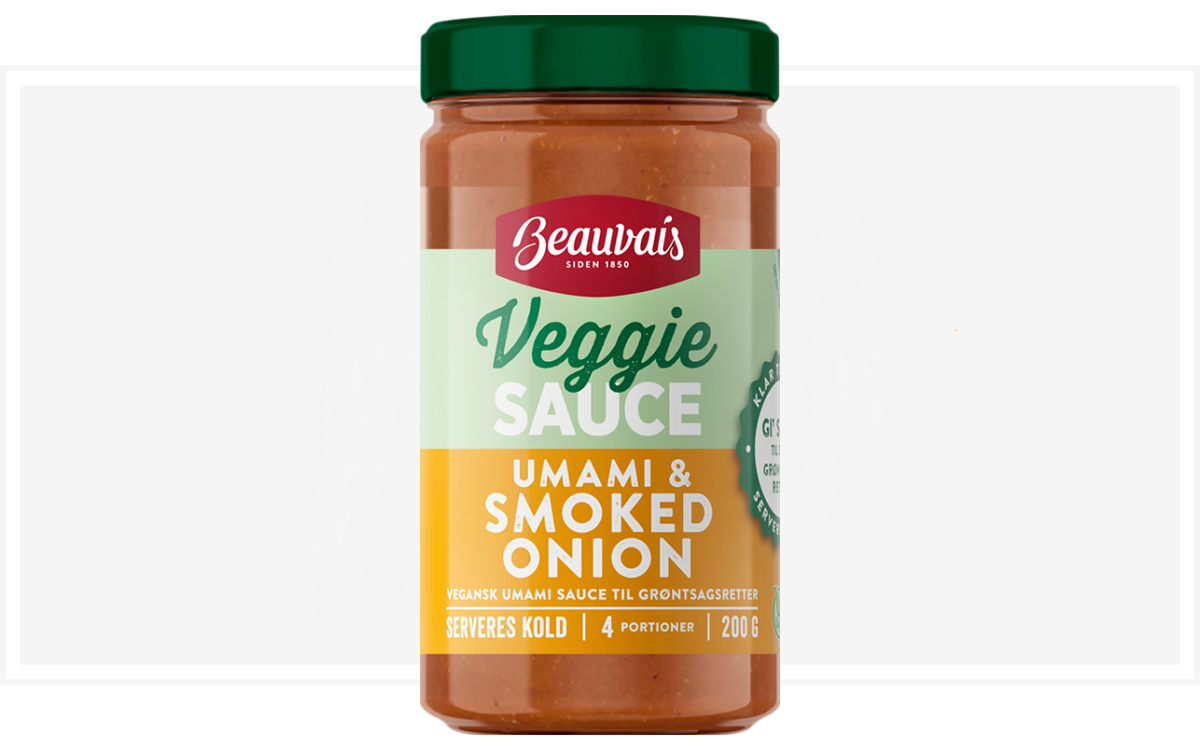 Beauvais Veggie smoked onion sauce